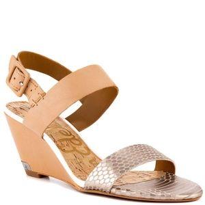 Sam Edelman Sutton Wedges Sandals 6